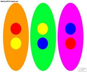 Sekundäre Farben puzzle