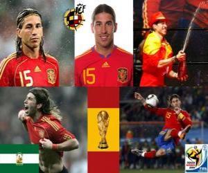 Sergio Ramos (The Indian von Camas) spanische Team Verteidigung puzzle