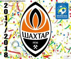 Shakhtar Donetsk, Meister 2017-18 puzzle