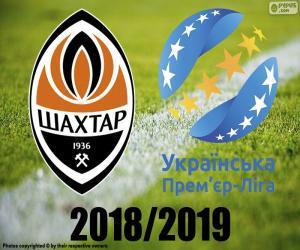 Shaktar Donetsk, 2018-2019 Meister puzzle