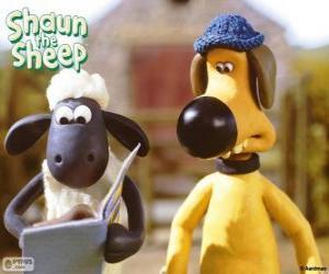 Shaun und Bitzer puzzle