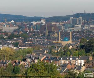 Sheffield, Vereinigtes Königreich puzzle