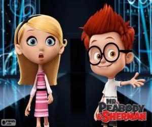 Sherman und Penny, zwei Klassenkameraden puzzle