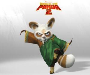 Shifu ist der Trainer von allen großen Kung-Fu-Kämpfer des Landes. puzzle