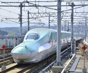 Shinkansen Kugelzug, Japan puzzle