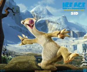 Sid, das nervensäge faultier puzzle
