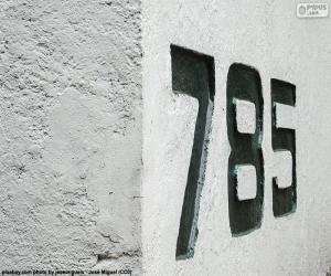 Sieben hundert und achtzig fünf puzzle