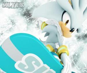 Silver the Hedgehog, Igel, die aus der Zukunft kommt puzzle