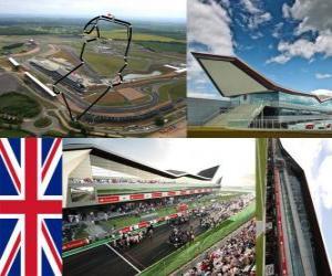 Silverstone Circuit - England - puzzle
