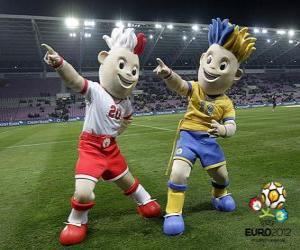 Slavek und Slavko - UEFA Euro 2012 - puzzle