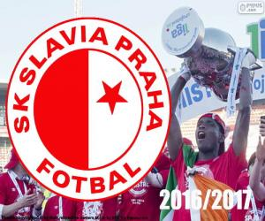 Slavia Prag, Champion 2016-2017 puzzle