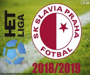 Slavia Prag, Meister 2018-2019 puzzle