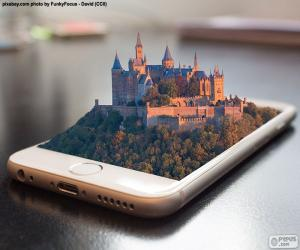 Smartphone 3D puzzle