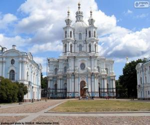 Smolny-Kloster, Russland puzzle