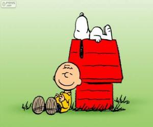 Snoopy und Charlie Brown puzzle
