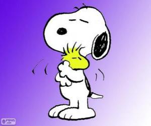 Snoopy und Woodstock puzzle
