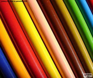 Sortierte Farben puzzle