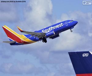 Southwest Airlines, Vereinigte Staaten von Amerika (USA) puzzle