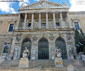 Spanische Nationalbibliothek, Madrid puzzle