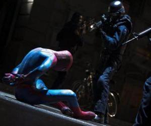 Spider-Man gefangen genommen von der Polizei puzzle