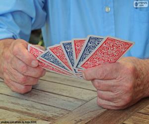 Spielkarten puzzle
