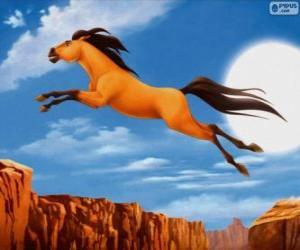Spirit, Der wilde Mustang puzzle