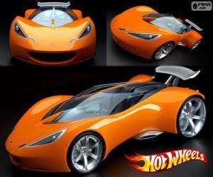 Sportwagen Hot Wheels puzzle