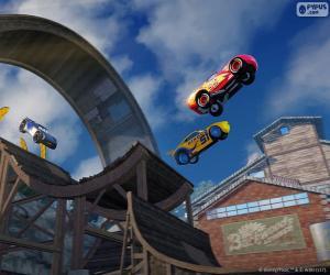 Springen Sie, Cars 3 das Videospiel puzzle