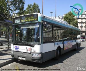 Städtische Busse von Paris puzzle