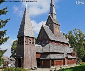 Stabkirche, Deutschland puzzle
