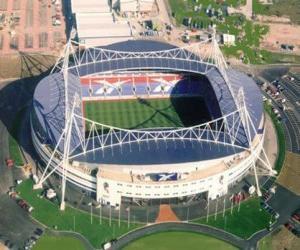 Stadion von Bolton Wanderers F.C. - Reebok Stadium - puzzle