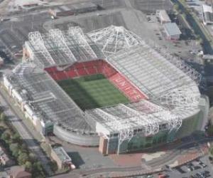 Stadion von Manchester United F.C. - Old Trafford - puzzle