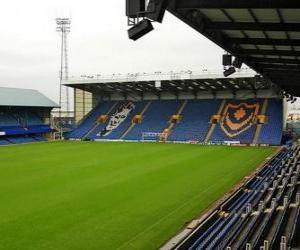 Stadion von Portsmouth F.C. - Fratton Park - puzzle
