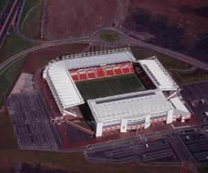 Stadion von Stoke City F.C. - Britannia Stadium - puzzle