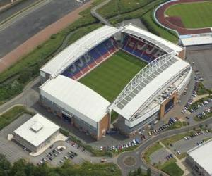 Stadion von Wigan Athletic F.C. - The DW Stadium - puzzle