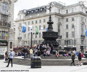 Statue von Eros, London puzzle