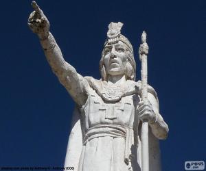 Statue von Manco Cápac puzzle