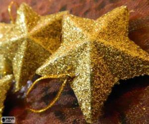 Stern für den Weihnachtsbaum puzzle