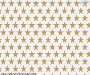 Sterne Geschenkpapier puzzle