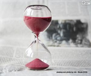 Stundenglas puzzle