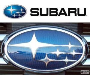 Subaru-Logo, japanische Automarke puzzle