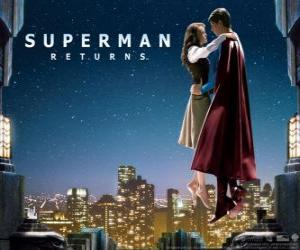 Superman als Lois Lane puzzle