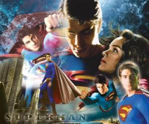 Superman und Lois Lane puzzle