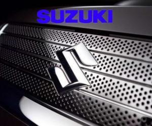 Suzuki-Logo, Auto-Marke aus Japan puzzle