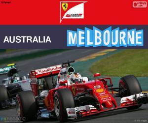S.Vettel G.P Australien 2016 puzzle