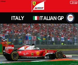 S.Vettel, G.P Italien 2016 puzzle