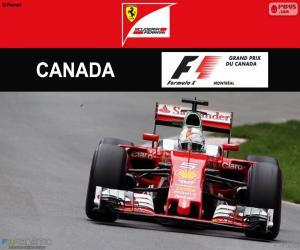 S.Vettel, Großer Preis Kanada 2016 puzzle
