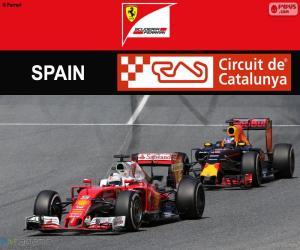 S.Vettel, Großer Preis von Spanien 2016 puzzle
