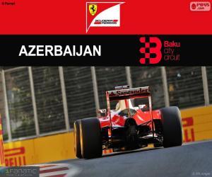 S.Vettel, Großer Preis von Europa 2016 puzzle