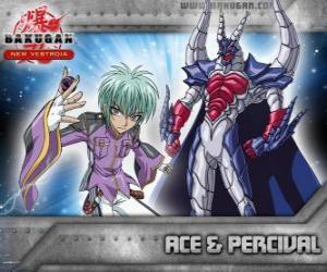 Swemco Ace und Percival Bakugan puzzle